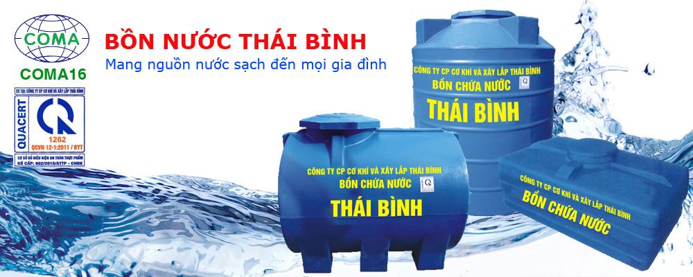 bồn chứa nước nhựa lldpe thái bình